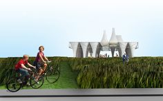 Gallery of PXSTL Competition Finalist Proposal / Freecell Architecture - 2