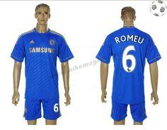 Chelsea Maillot Romeu 6 Domicile 2012-2013 FT149
