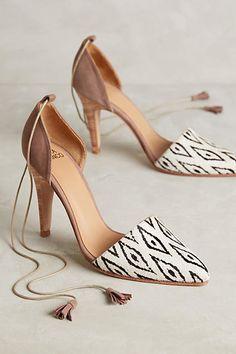 Huma Blanco Maribela Heels Black & White 8 Heels