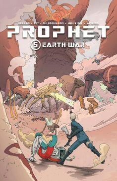 Prophet Volume 5: Earth War by Brandon Graham, Simon Roy, Giannis Milonogiannis and Ron Ackins. #prophet #earthwar