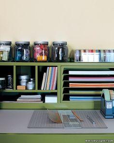 Another Martha Stewart craft room