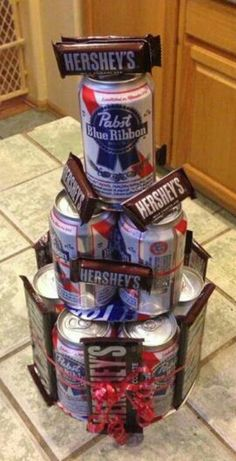 Beer Cake/chocolate cake... A Man's perfect gift!