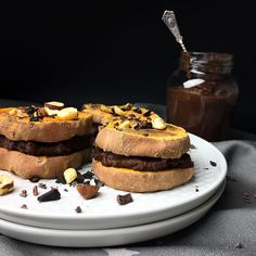 sweet potato sandwiches with chocolate filling 🍫🍫🍫
