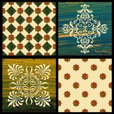 Pattern tile oil