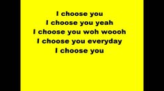 Stan Walker - Choose you (lyrics)