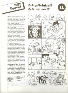 sexuální výchova 2 Health Activities, Activities For Kids, Human Body, Homeschool, Teaching, Logo, Literature, Biology, Photograph Album