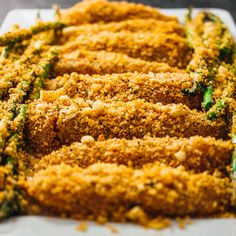 Baked parmesan chicken and asparagus