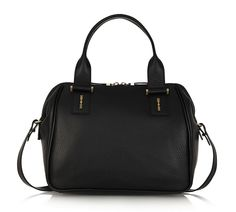 McQ Alexander McQueen YT Textured Leather Tote: Turning the Hardware on Its Head