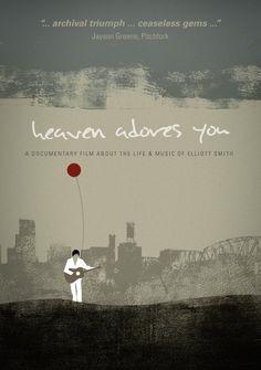 """""""Heaven Adores You"""" El documental de Elliot Smith, también en DVD."""