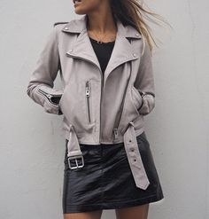 Influencer Hannahcrosskey snapped wearing an Allsaints Biker, discover your favourite. View all styles.