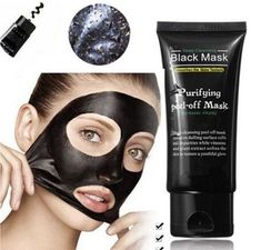 Buy Shills Blackhead Remover Deep Facial Masks Deep Cleansing Purifying Peel Off Black Nud Facail Face Black Mask Silicone Deep Cleansing Black Mask, Deep Cleansing Facial, Cleansing Mask, Cleansing Water, Blackhead Mask, Blackhead Remover, Creme Anti Point Noir, Maquillage Black, Black Peel Off Mask