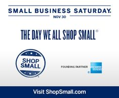 334 - NOV 30 - Shop Small. Shop American.  Mmmmm....starting in dowtown coldwater for a coffee & the shops!
