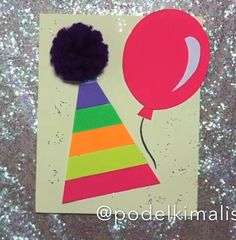 Paper birthday cards crafts for kids