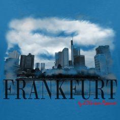 Frankfurt by L'Horizon Apparel - Frauen Bio-T-Shirt mit V-Ausschnitt von Stanley