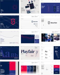 Styleguide for Securiton – Brand Identity The post Styleguide for Securiton – Brand Identity appeared first on Design. Brand Guidelines Design, Brand Identity Design, Branding Design, Identity Branding, Corporate Branding, Visual Identity, Brand Presentation, Presentation Layout, Brand Guidlines