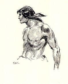KRENKEL ~ Tarzan Comic Art
