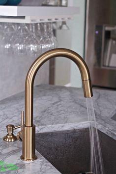 Gold Wasserhahn Küche