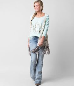 Gimmicks by BKE Hooded Sweater Vest