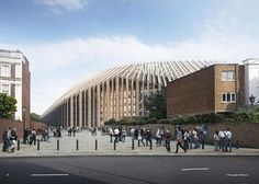 """Chelsea F.C., one of the world's most famous football clubs, is getting a new stadium with 60,000 seats.    Herzog & de Meuron has unveiled its final design for the revamp of the London stadium, with a brick and steel addition it describes as a """"contemporary sculpted form"""".  The new stadium will cost around around $610 million and is estimated to be completed by 2020.  Before construction can begin, the stadium will need to be approved by London Mayor Sadiq Khan."""