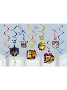 Transformers Tattoo Favors - Stickers & Tattoos & Individual Party Supplies