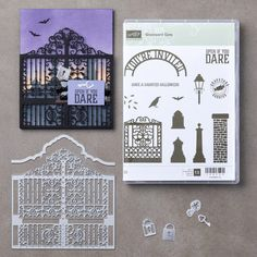 ONLINE CLASS & VIDEO: How to make Spooky Halloween Cards with the Graveyard Gate including tips | Stampin Up Demonstrator - Tami White - Stamp With Tami Crafting and Card-Making Stampin Up blog