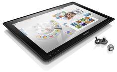 """A Tablet That Doubles as a Desktop, or Vice Versa - NYTimes.com. Lenovo Horizon, 27"""" screen. Around $1,500"""