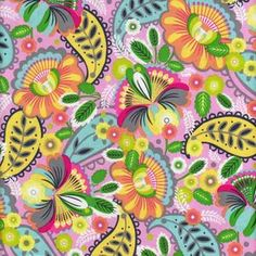 Quilting Treasures House Designer - Chantilly - Floral Mix in Multi
