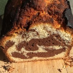 Easter Pound Cake with Cacao Swirls