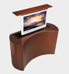 Retractable TV Console