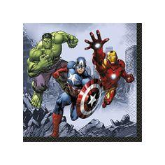 Marvel's Avengers Beverage Napkins [16 Per Pack] | 30333815 | $3.99