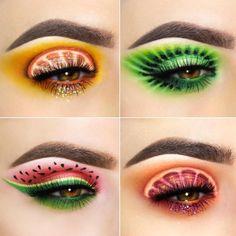 how to do eyeliner Crazy Eye Makeup, Makeup Eye Looks, Creative Makeup Looks, Eye Makeup Art, Beautiful Eye Makeup, Colorful Eye Makeup, Cute Makeup, Makeup Inspo, Eyeshadow Makeup