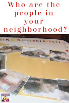 Oh who are the people in your neighborhood? Me on the Map #geography #kidlit #kindergarten #homeschool