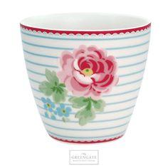 GreenGate Latte cup Lily white SS18 #GreenGate #GreenGateOfficial