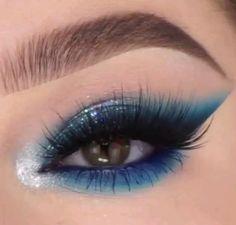 Dramatic Eye Makeup, Purple Eye Makeup, Turquoise Makeup, Flawless Face Makeup, Contour Makeup, Makeup Without Eyeliner, Brown Eye Makeup Tutorial, Colorful Makeup, Beauty