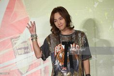 Jang Keun Suk attend 'I JUST WANNA HAVE FUN' celebrating press conference on Wednesday April 03,2013 in Taipei Taiwan,China.