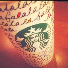 New Starbucks Christmas mug--my new favorite