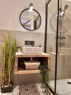 Bathroom Sink Units, Rustic Bathroom Vanities, Sink Vanity Unit, Bathroom Sink Design, Loft Bathroom, Master Bathroom, Floating Bathroom Sink, Loft Ensuite, Bathroom Stand