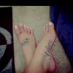 My believe tattoo <3