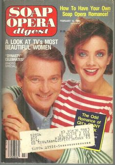 General hospital on the cover vintage soap opera magazines