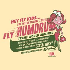 Fly Humdrum Trans World Airlines - Timba Smits