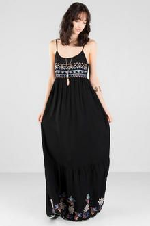 Jamiya Embroidered Maxi Dress