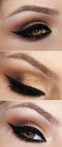 make marrom e dourado claudiaguillen.inbloodesign.com