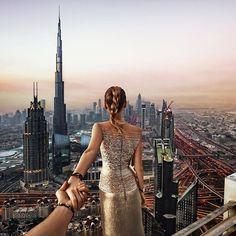 #followmeto Dubai Rooftops with @natalyosmann. Sometimes you get the best views from unexpected places. @visit.dubai #visitdubai