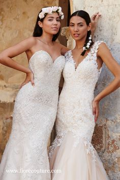 Which is your favorite style? Strapless or a delicate illusion lace strap. We've got something perfect for each preferance. Click the image for more wedding dresses and information on where to find your dream gown. #weddinggowns #laceweddingdress #weddingplanning #weddingguide #futurewedding Dream Wedding Dresses, Wedding Gowns, Dress Style Names, Bridal Collection, Couture Collection, Welcome To Our Wedding, Dress Silhouette, Fashion Dresses, Illusion
