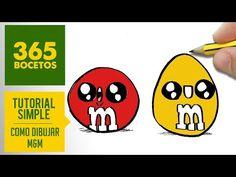 COMO DIBUJAR UN BOTE DE NUTELLA KAWAII PASO A PASO - Dibujos kawaii faciles - How to draw Nutella - YouTube