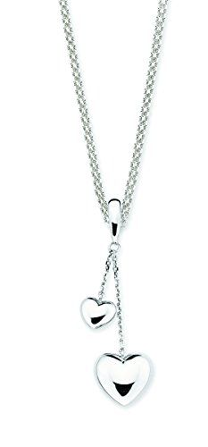 Sterling Silver Girls .8mm Box Chain Medium Ladybug Pendant Necklace