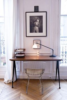 Be strategic with your home office and you'll never want to leave it! The post Quick Tips To Create A Home Office You'll Actually Want To Work In appeared first on Career Girl Daily. Home Office Design, Home Office Decor, House Design, Home Decor, Office Ideas, Men Office, Sweet Home, Office Workspace, Office Nook