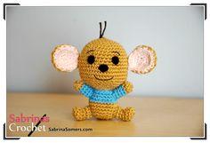 Free Crochet Pattern - Amigurumi on http://www.sabrinasomers.com/free-amigurumi-crochet-pattern-roo.php