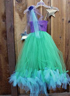 Free How to make no sew Little Mermaid costume