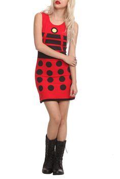 Dalek design. Doctor Who.